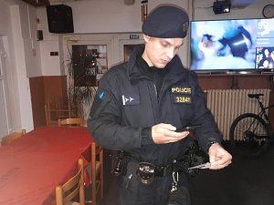 Policejní akce v Chodově