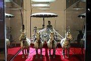 Výstava Terakotová armáda v hotelu Thermal.