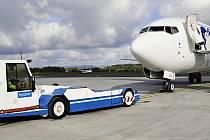 Karlovarskému letišti se daří, opět přibylo pasažérů.