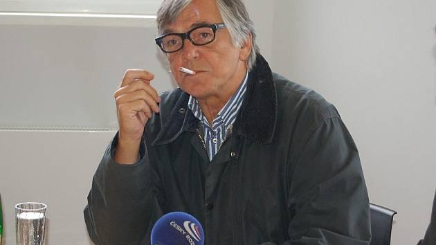 Jiří Bartoška, prezident mezinárodního filmového festivalu.