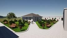 Takto má vypadat nový bezbariérový bytový dům pro božičanské seniory.