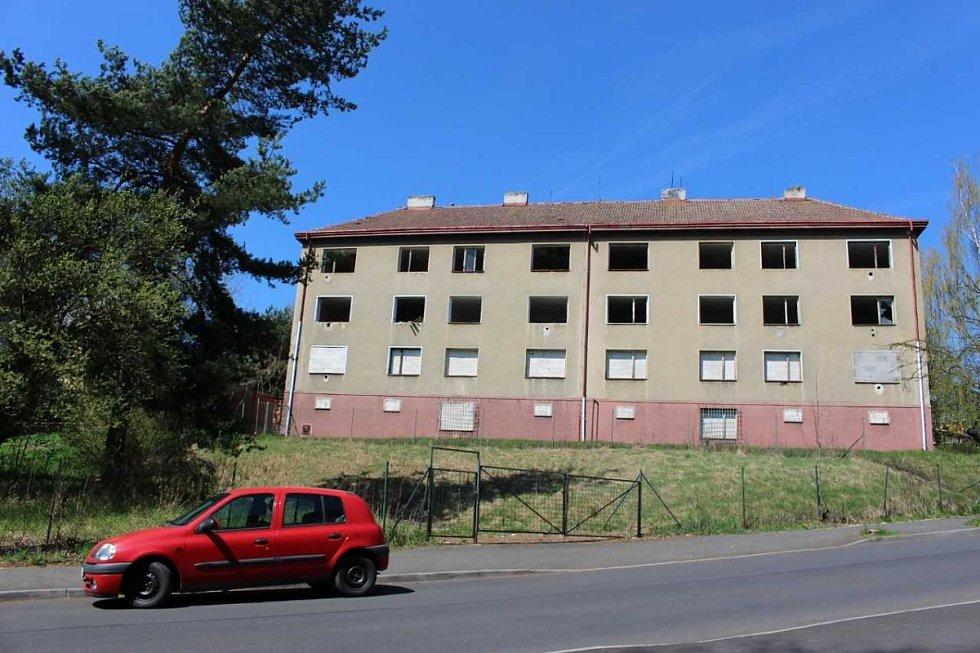 Vybydlené domy v Sokolově