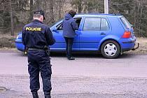 Policejní akce Úklid. Kontrola řidičů.