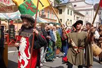 Bečov opět hostí velkolepé historické slavnosti.
