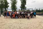 Beachový turnaj.