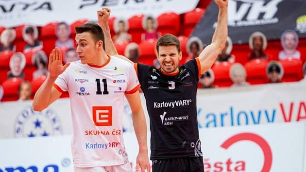 Karlovarsko porazilo České Budějovice 3:0 na sety.
