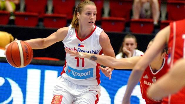 Jediné vítězství na turnaji uhrály Češky proti Srbsku.