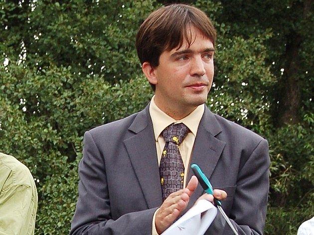 Petr Navrátil, chebský starosta.