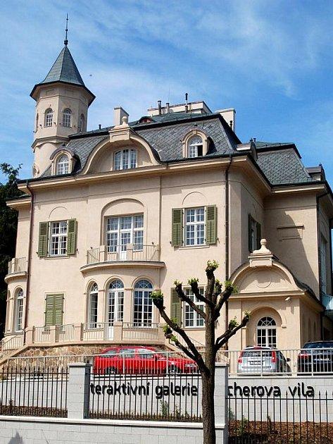 ZREKONSTRUOVANÁ VILA BECHER v Karlových Varech
