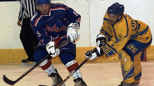 Hokejisté Ostrova si poradili se silnými Lovosicemi.