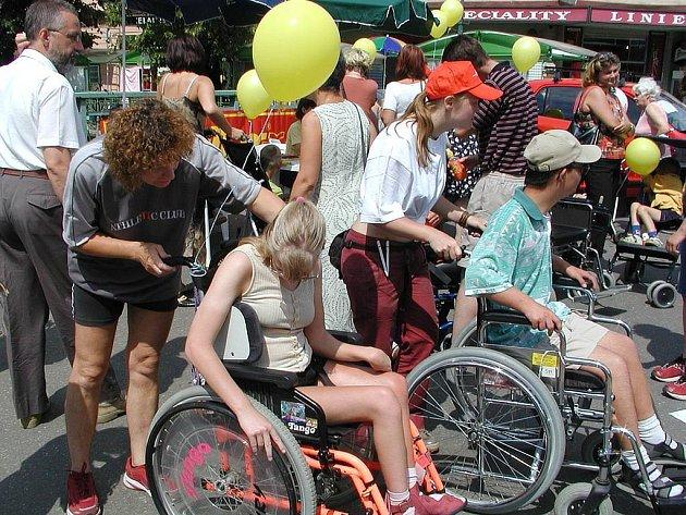 Projekt. Invalidní lidé dostanou tak zvané euroklíče.