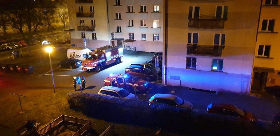 Zásahy hasičů Karlovarského kraje na Silvestra a Nový rok