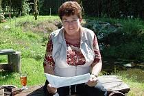 Opora Prachomet. Předsedkyně osadního výboru Věnceslava Wernerová má energie na rozdávání.