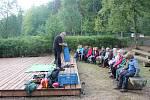 Novinkou Lázeňských lesů jsou například příměstské tábory. Ty se konají i na Svatém Linhartu.