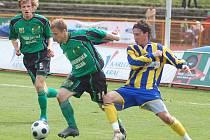 Utkání FK Baník Sokolov - SFC Opava 2:0.