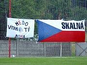 Pavel Nedvěd odehrál mistrovské utkání I.B třídy ve Sklané.