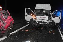 Tragická dopravní nehoda u K. Varů.
