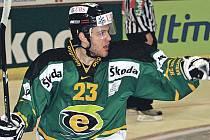 Lukáš Pech, útočník karlovarské HC Energie.
