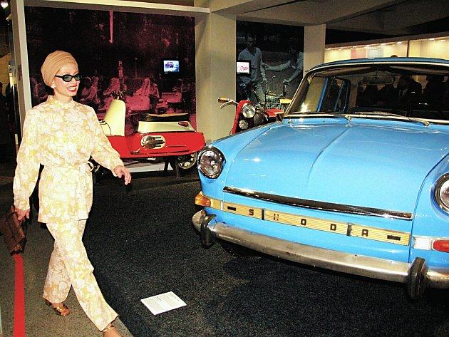 Expozice unikátního Retromuzea v Chebu.