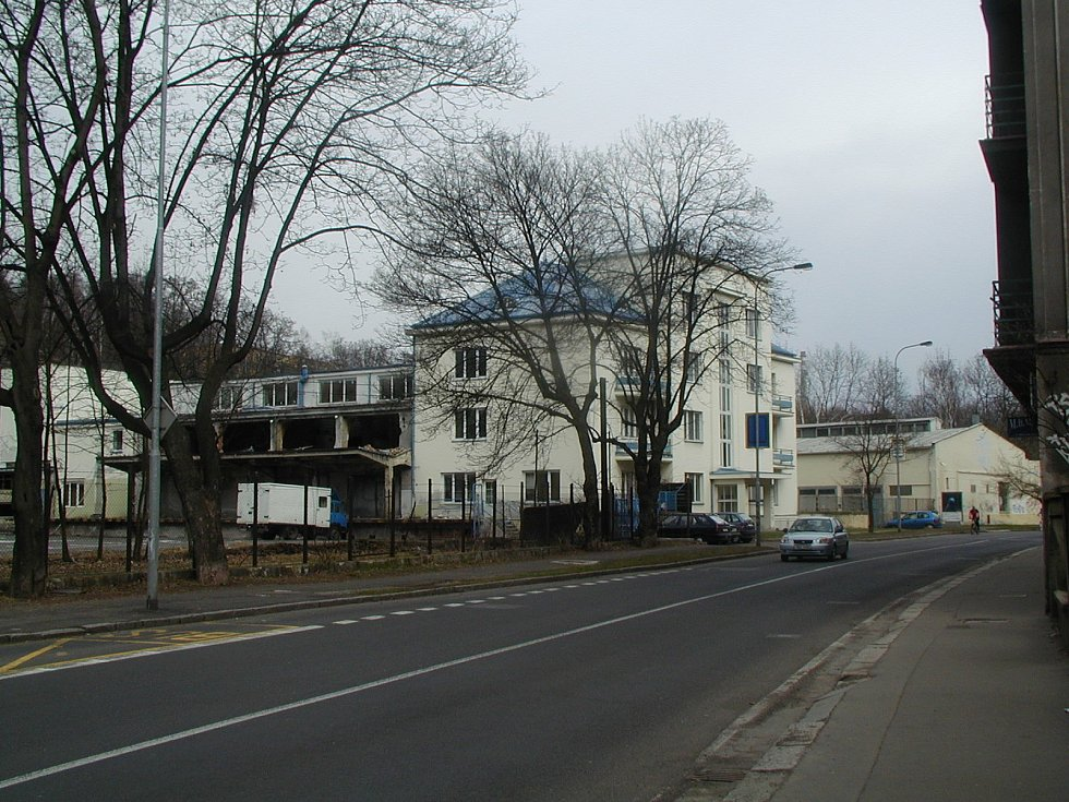 Původní Karlovarská mlékárna.