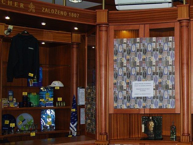 Prohibice v Muzeu karlovarské becherovky.