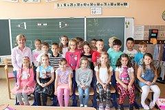 Žáci z 1.B ze ZŠ Konečná Karlovy Vary.