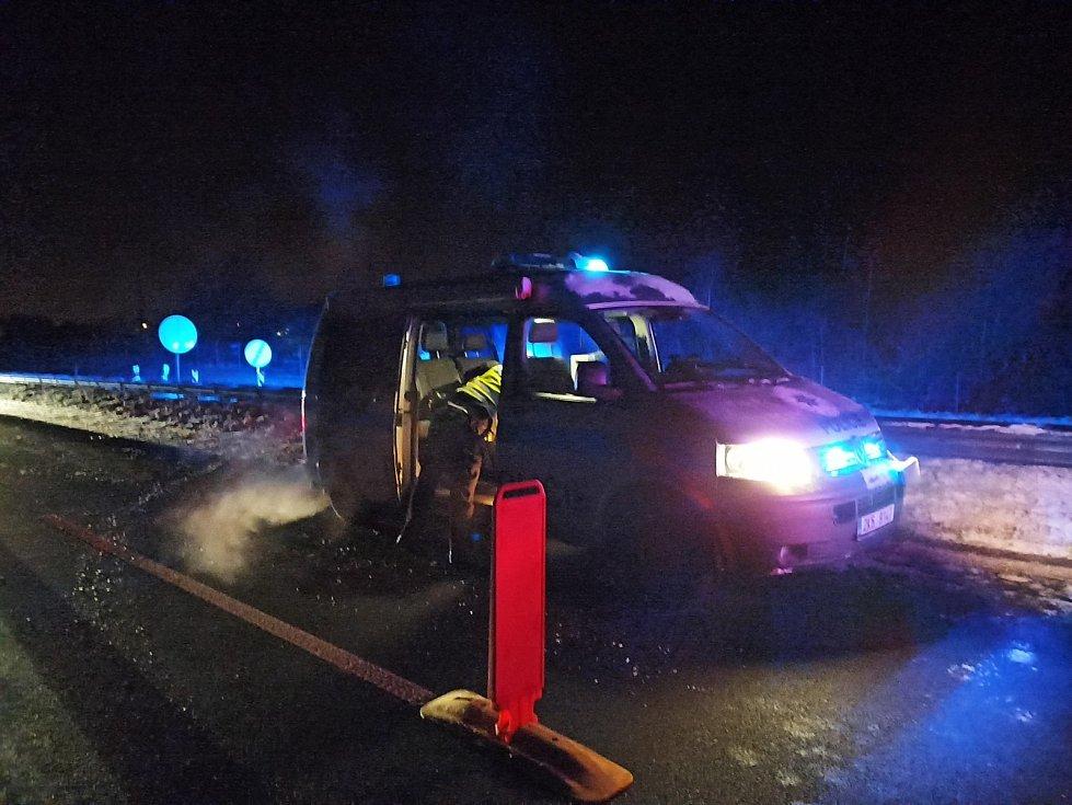 Policejní kontroly v Karlovarském kraji.
