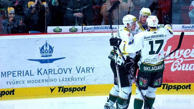 HC Energie Karlovy Vary - HC Slavia Praha 3. zápas předkola