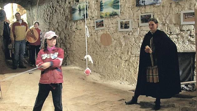 Zábava nejen pro ty nejmenší, ale pro všechny mladé duchem, je připravena na Horním hradě.