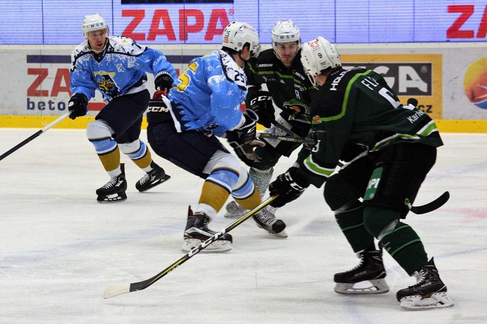 WSM liga: Kladno - K. Vary.