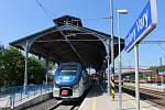 Správa železniční dopravní cesty slavnostně otevřela horní vlakové nádraží v Karlových Varech.