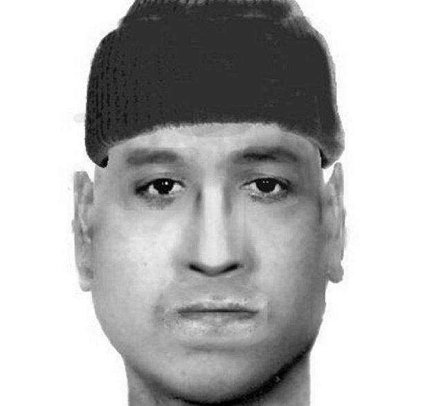 Identikit podezřelého muže