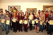 Ocenění úspěšných školáků z regionu