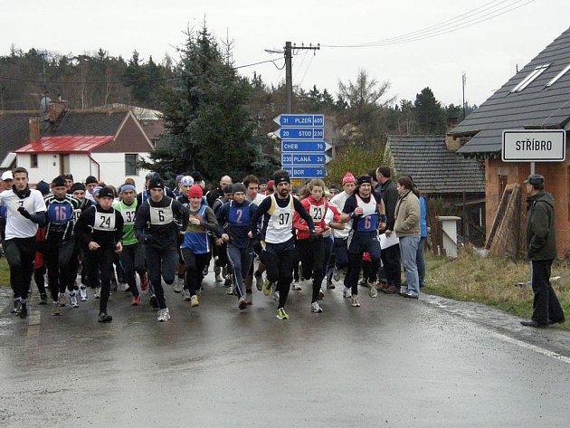 Na start závodu se postavilo ve všech kategoriích celkem 126 závodníků od batolat s rodiči až po veterány.