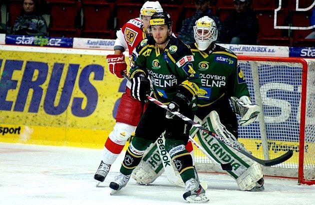 Hokejisté Energie pokořili Slavii 2:0.