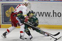 1. zápas předkola play off hokejové extraligy HC Slavia Praha – HC Energie Karlovy Vary hrané 23. února v Praze.
