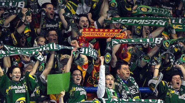 Finále play off: 1. zápas Energie se Slavií.