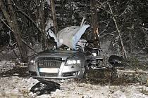 Tragická dopravní nehoda mezi Aší a Hazlovem