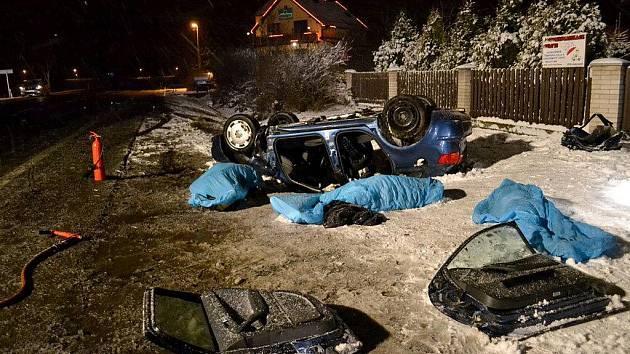 Tragická dopravní nehoda u Františkových Lázní