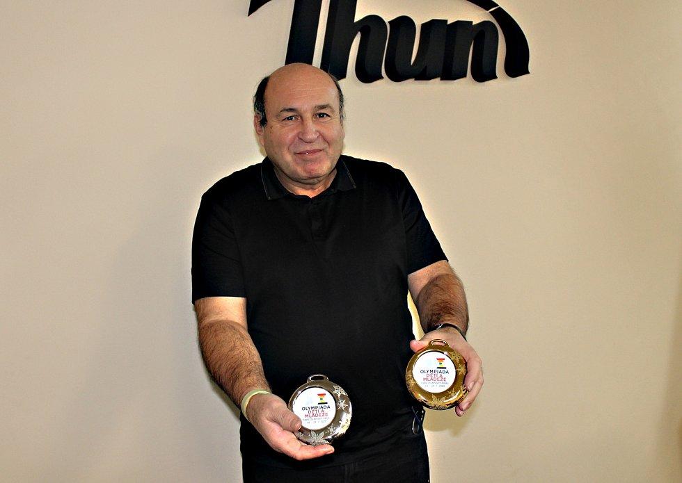 Generální ředitel Thunu věří, že medaile neskončí v šuplíku