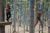 Centrum Linhart bude bohatší o další stezku mezi korunami stromů