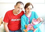 Markétka Zeibichová z Klášterce nad Ohří narodila 14. 1. 2015
