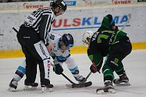 46. kolo hokejové extraligy mezi HC Bílí Tygři Liberec vs HC Energie Karlovy Vary.