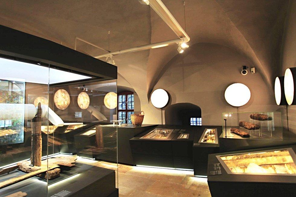 Atraktivní muzejní expozice.