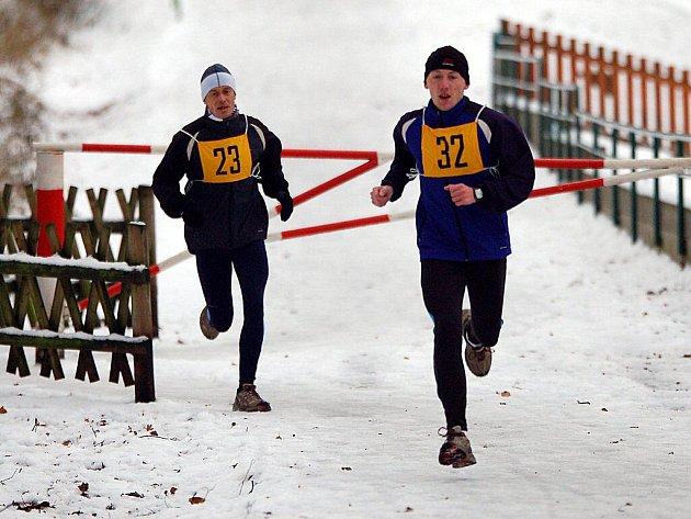 Již po třiadvacáté se na Štědrý den 24. prosince postavilo na start Richardova běhu několik desítek odvážlivců.