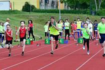 Ostrov hostí ve středu 3. června od 16 hodin na svém atletickém stadionu mistrovství kraje žactva v pětiboji.