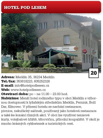 Hotel Pod Lesem