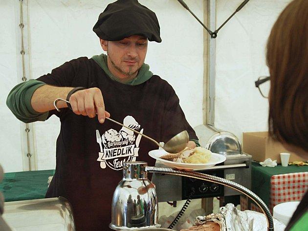 Gastronomický festival Knedlík fest.