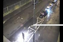 Řidička nabourala dvě auta městské policie.