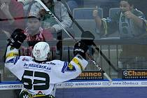 Radost ze třetího gólu Energie, skóroval Ondřej Němec.